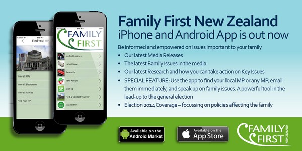 Family First Phone app advert